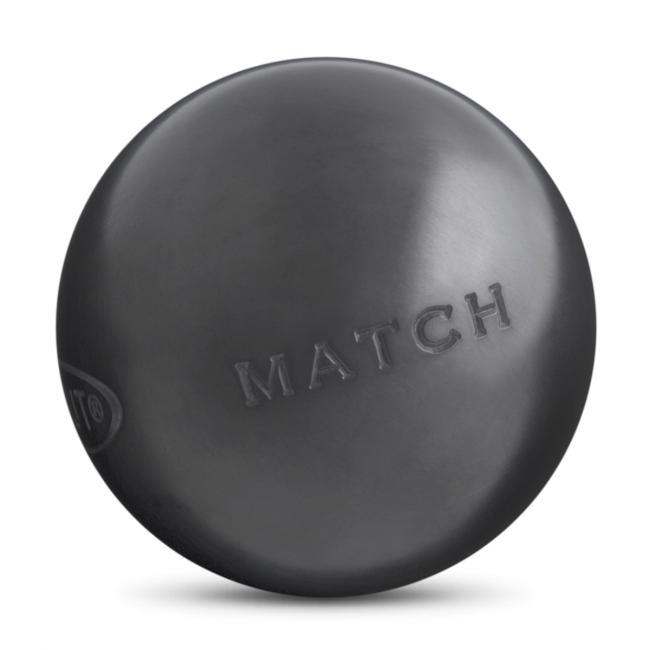 Boules de p/étanque Match Noire g 71mm Obut